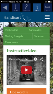 Handicart website video