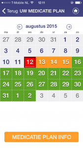NCA kalender